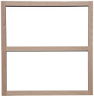 Two-Drawer Base Face Frame